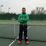 Tom Sampson, Wye tennis club and Canterbury tennis academy